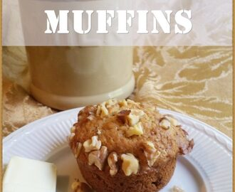 Bake a Batch of Brown Sugar Banana Nut Muffins