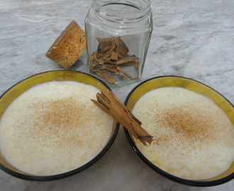 Arroz con leche light