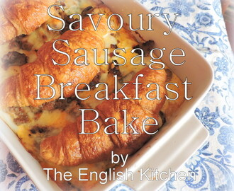 Savoury Sausage Breakfast Bake and Sausage, Kale and Sweet Potato Gratin