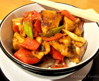 Spicy Szechuan Chicken