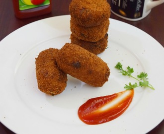 Fish Cutlet Recipe - Indian Style