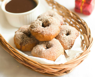 how to make homemade donuts without yeast