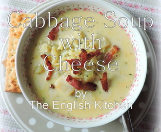 Cabbage Soup with Cheese