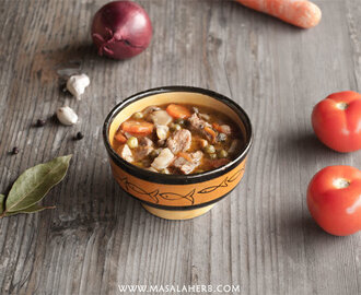 Winter Veal Stew – French Ragout Recipe