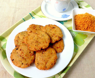 Punjabi Masala Mathri / Indian Savoury Crackers