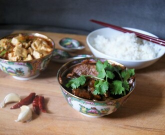 Mapo Tofu, Best Beef Stirfry + Cookbook Giveaway for the Chinese Mid-Autumn Festival