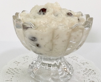 Quick Rice Pudding: #Recipe