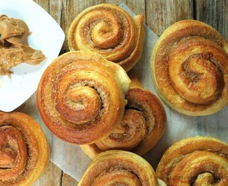 Speculoos roll brioches