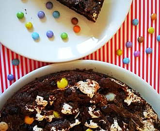 Giant Double Chocolate Cookie mit Marshmellowfluff (mit Thermomix)