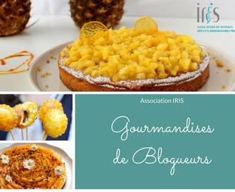 Gourmandises de blogueurs – Association Iris