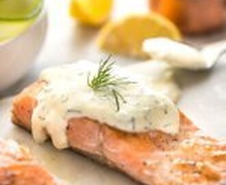 Creamy Dill Sauce for Salmon or Trout