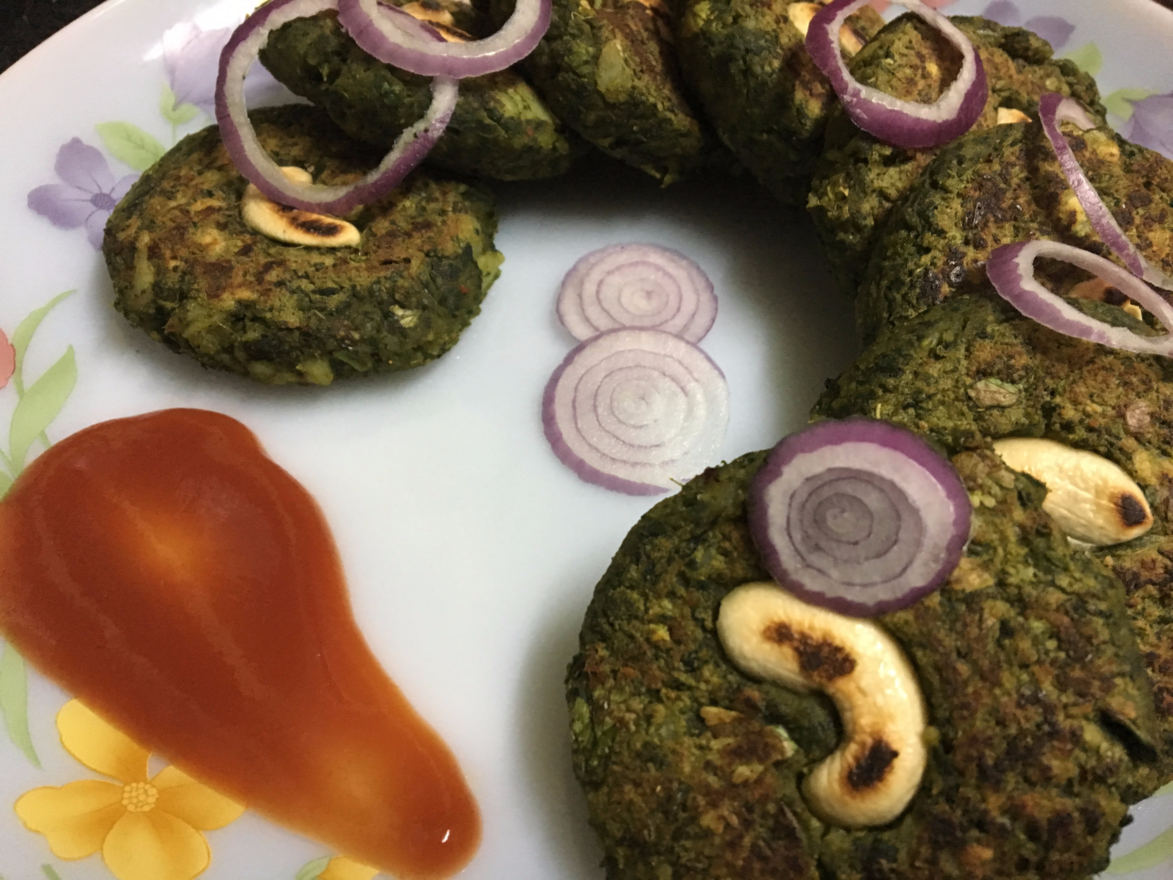 Yummy and healthy Hara Bhara Kabab!