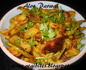 Aloo Parwal (Potato and Pointed Gourd) ki Sabji