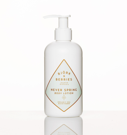 Björk & Berries Never Spring Body Lotion 250ml