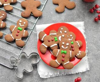 Gingerbread koekjes (gingerbread men)