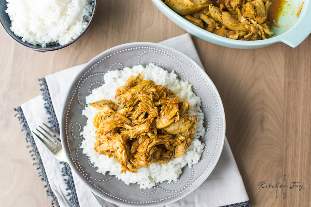 Honey Curry Chicken (Instant Pot & Slow-Cooker Methods)