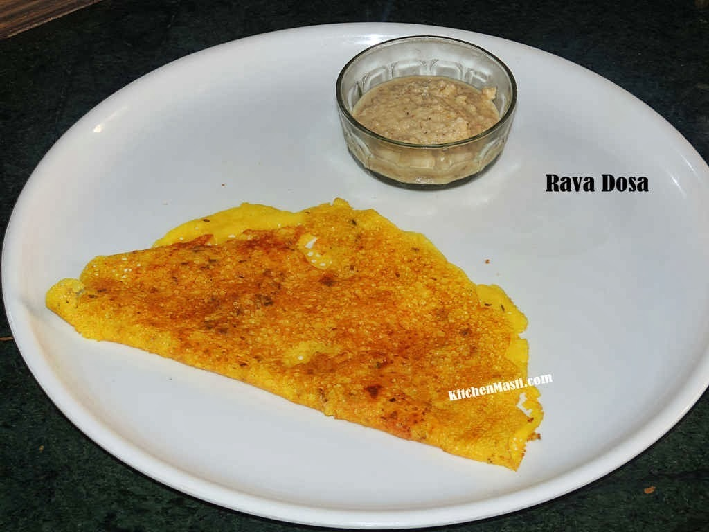 Rava Dosa Recipe For Breakfast
