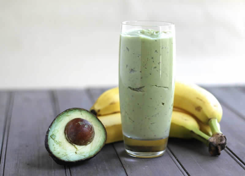 Smoothie avocat banane au thermomix