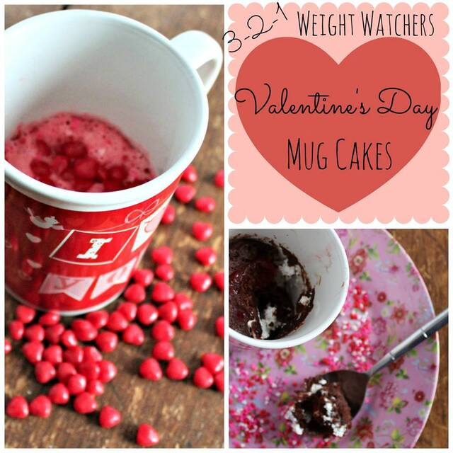 #12Daysof Valentine's Day Recipes {Day 6} Valentine's Day Mug Cakes