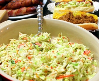 Cajun Buttermilk COLESLAW for Chili/Slaw Dogs - 13 Bagged Coleslaw Upgrades
