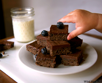 Wild Idea Buffalo Recipe of the Week – Chocolate Buffalo Brownies