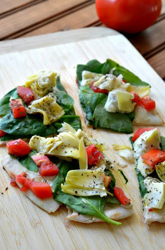 Tomato and Artichoke Flatbread