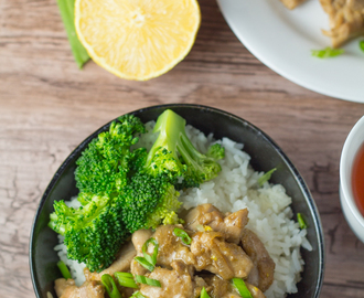 Lemony Chicken Stir Fry