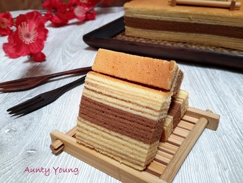 咖啡千层蛋糕( Indonesia Coffee  Layer Cake)