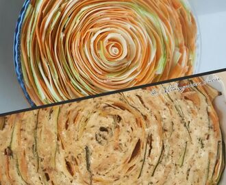 Vegetable Spiral Bake