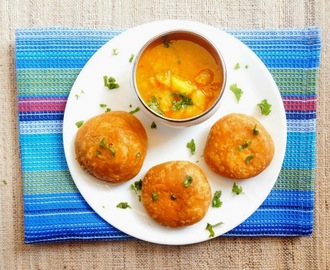 How to make Kachori with aloo sabji