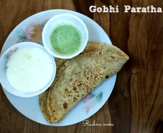 Gobhi Paratha Recipe | Cauliflower Stuffed Paratha
