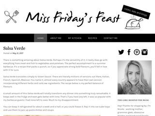 Miss Friday's Feast