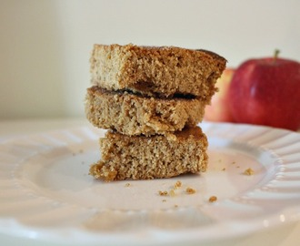 Simple Apple Almond Snack Cake