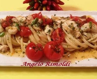 Linguine Risottate con Filetti di Gallinella