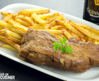 Recette de fish and chips à la Guinness