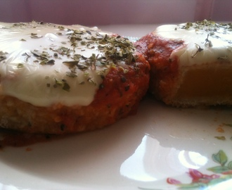Milanesas de calabaza a la napolitana - Breaded pumpkin steak in the Neapolitan style