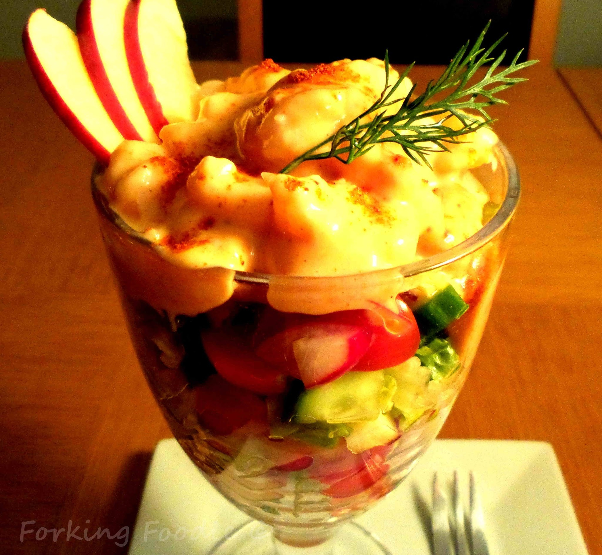Retro-tastic Prawn Cocktail Salad
