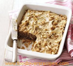 MICROWAVE COFFEE AND WALNUT CAKE