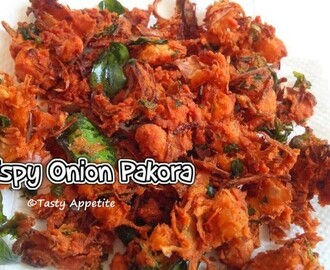 Onion Pakoda / Healthy Tea Time Snacks - Easy Video Recipe