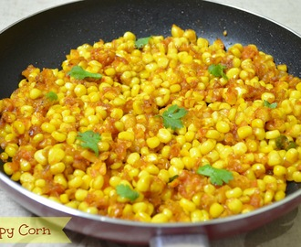 Crispy Corn | Pan fried version