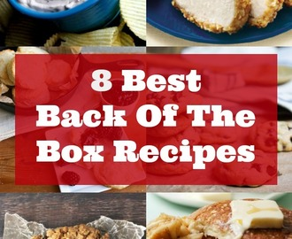 8 Best Back of the Box Recipes
