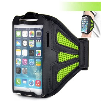 Meshi Armband för iPhone 6 Plus / iPhone 6s Plus / iPhone 7 Plus / iPhone 8 Plus - Grön