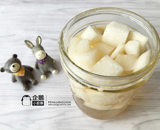 韓式炸雞腌蘿蔔食譜 Korean Pickled Radish Recipe