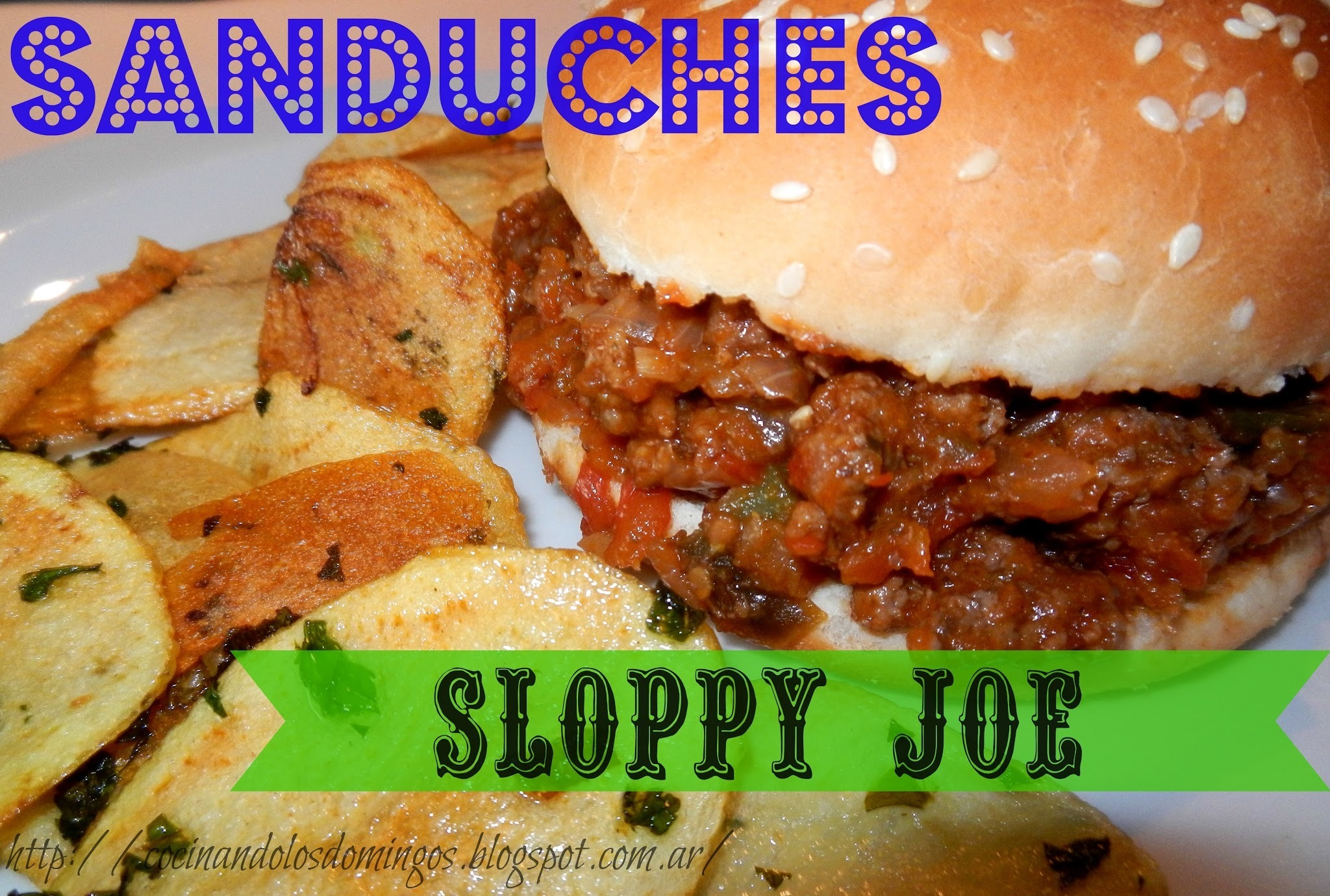 SANDUCHES SLOPPY JOE