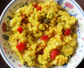 Vegetable Kichadi: Comfort Food