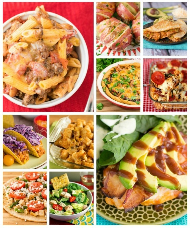 What's For Dinner? Easy Weekly Dinner Menus Are the Answer!