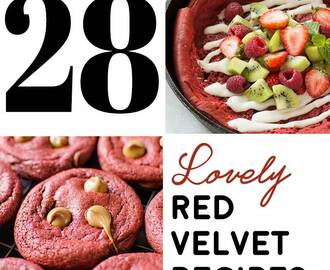 28 Lovely Red Velvet Recipes