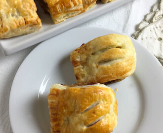 Pork and Cranberry Sausage Rolls