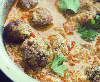Shahi Kofta Korma Recipe, Mutton Kufta Kurma, pakistani