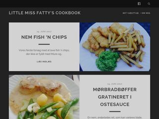 Little Miss Fatty's cookbook